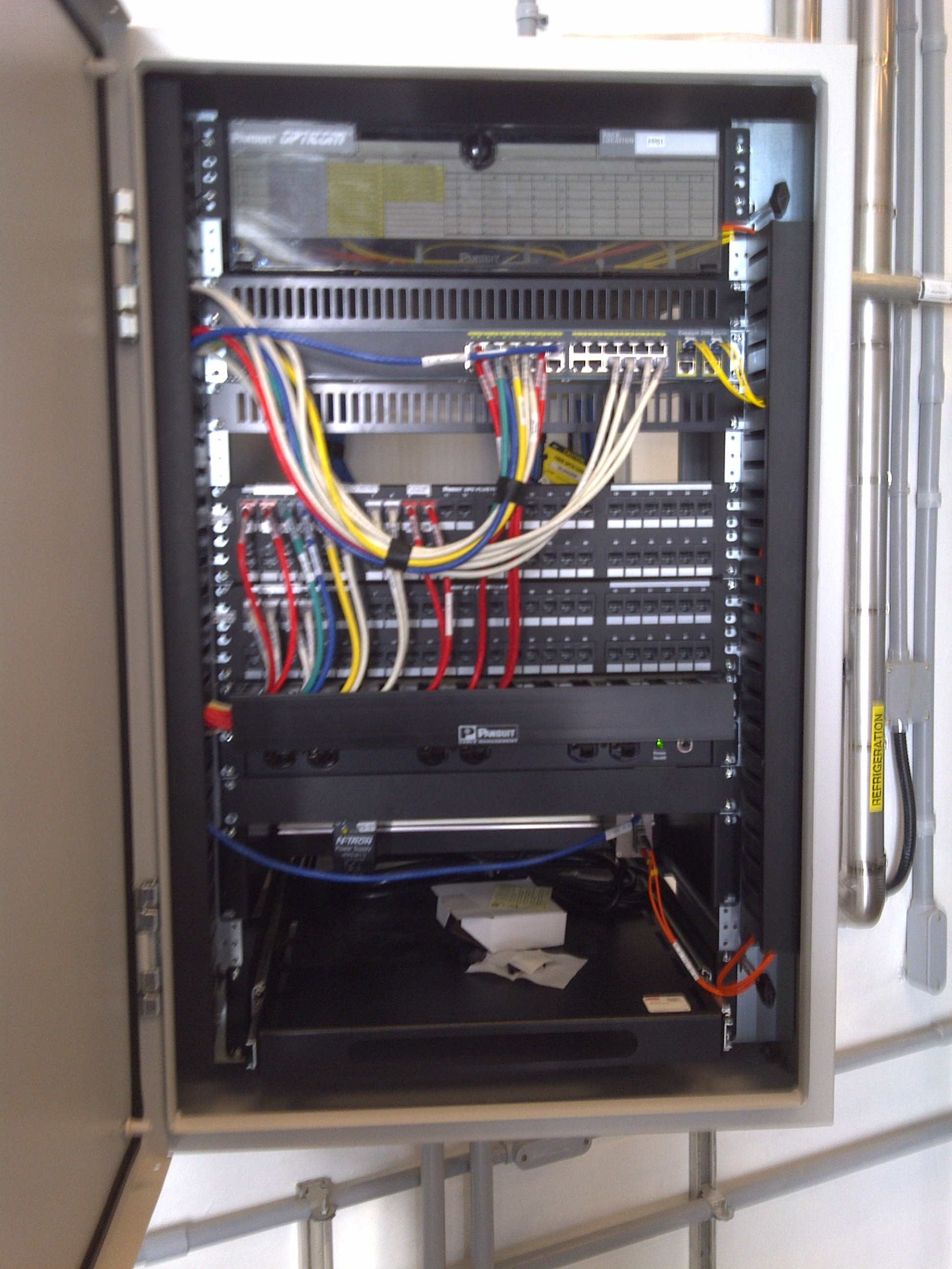 Network Cabinets Fiber Core Communication Home Wiring Cabinet For